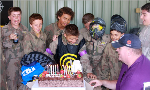 Paintball Birthday Party Ottawa