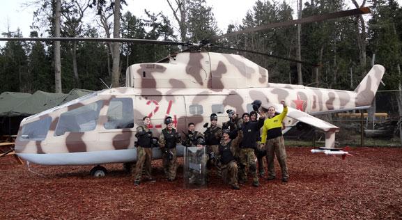 Paint Ball Delta Force Rambo 2 Gunship