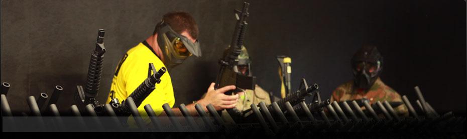 Delta Force Paintball Equipment