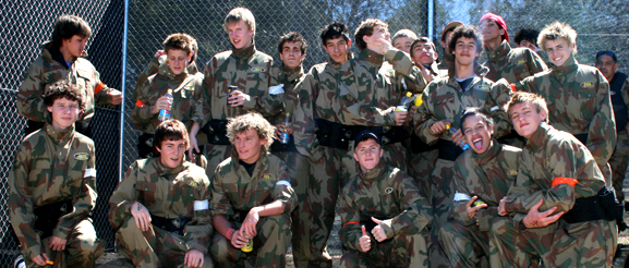 Youth Groups Paintball